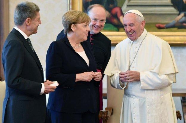 Merkel & Pope
