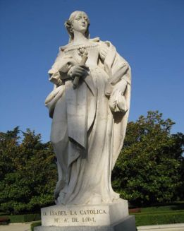 statuequeenisabellaspain