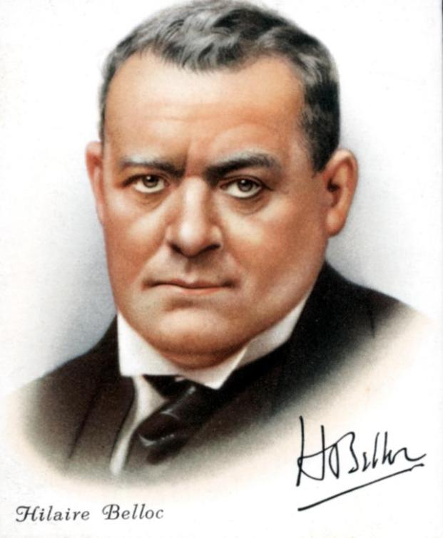 (Joseph) Hilaire Belloc (1870-1953), French-born British poet, writer and polemicist, 1927. A Roman Catholic, Belloc was a follower of Cardinal Newman. He was highly prolific in his writing, covering a wide range of subjects. (Photo by Ann Ronan Pictures/Print Collector/Getty Images)