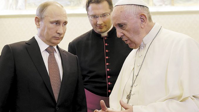 Putin & Francis II