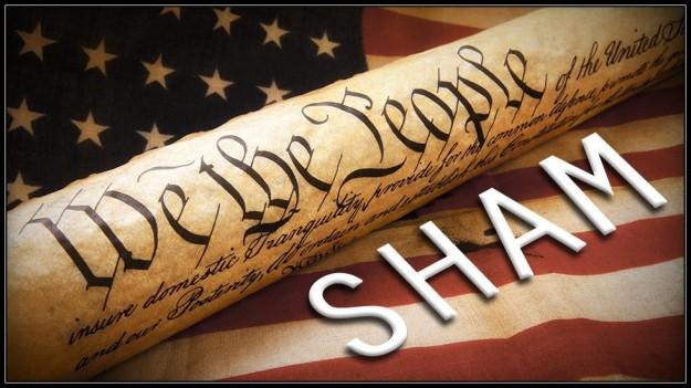 Constitution sham
